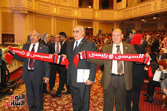 المؤتمر العام لـحماة الوطن لإعلان تأييد السيسى بانتخابات الرئاسة (4)