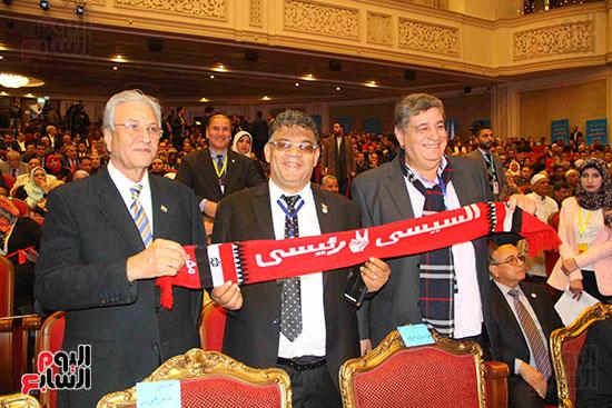 المؤتمر العام لـحماة الوطن لإعلان تأييد السيسى بانتخابات الرئاسة (9)