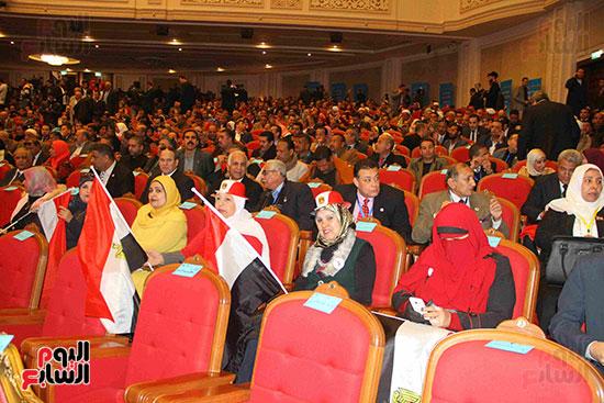 المؤتمر العام لـحماة الوطن لإعلان تأييد السيسى بانتخابات الرئاسة (36)