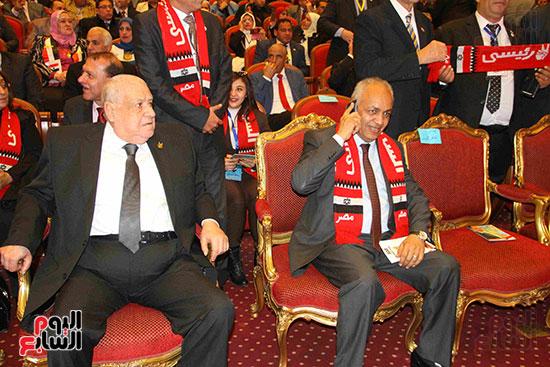 المؤتمر العام لـحماة الوطن لإعلان تأييد السيسى بانتخابات الرئاسة (8)