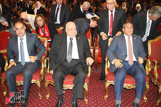 المؤتمر العام لـحماة الوطن لإعلان تأييد السيسى بانتخابات الرئاسة (26)