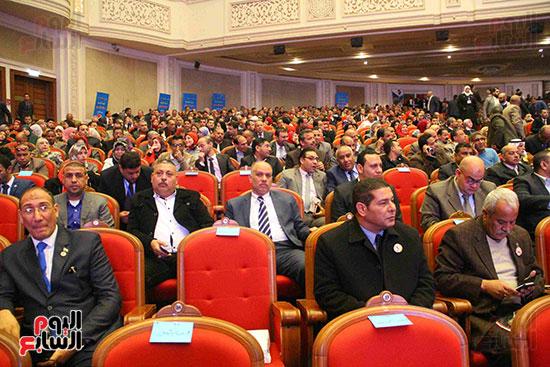 المؤتمر العام لـحماة الوطن لإعلان تأييد السيسى بانتخابات الرئاسة (44)