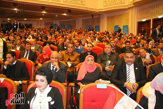المؤتمر العام لـحماة الوطن لإعلان تأييد السيسى بانتخابات الرئاسة (39)