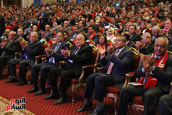 المؤتمر العام لـحماة الوطن لإعلان تأييد السيسى بانتخابات الرئاسة (14)