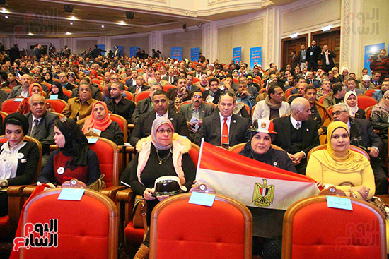 المؤتمر العام لـحماة الوطن لإعلان تأييد السيسى بانتخابات الرئاسة (42)