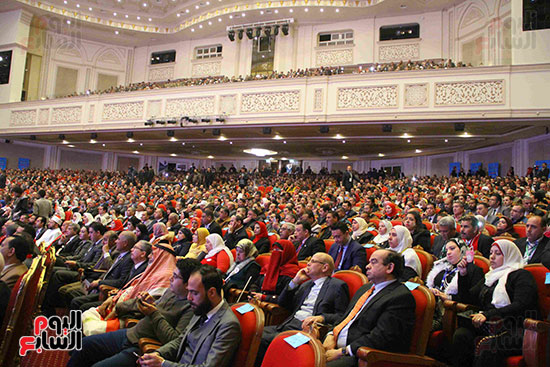المؤتمر العام لـحماة الوطن لإعلان تأييد السيسى بانتخابات الرئاسة (23)