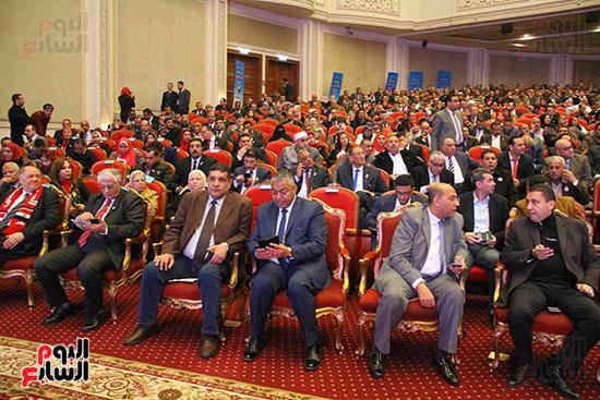 المؤتمر العام لـحماة الوطن لإعلان تأييد السيسى بانتخابات الرئاسة (6)