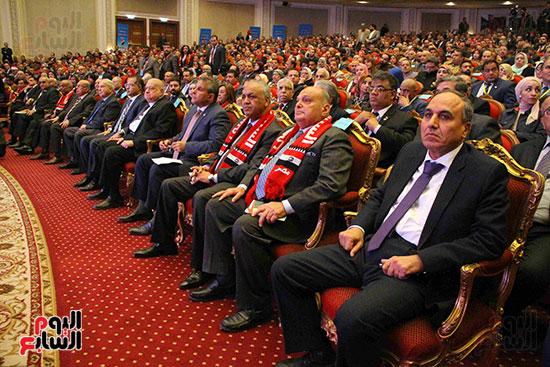 المؤتمر العام لـحماة الوطن لإعلان تأييد السيسى بانتخابات الرئاسة (18)