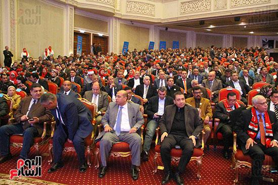 المؤتمر العام لـحماة الوطن لإعلان تأييد السيسى بانتخابات الرئاسة (12)