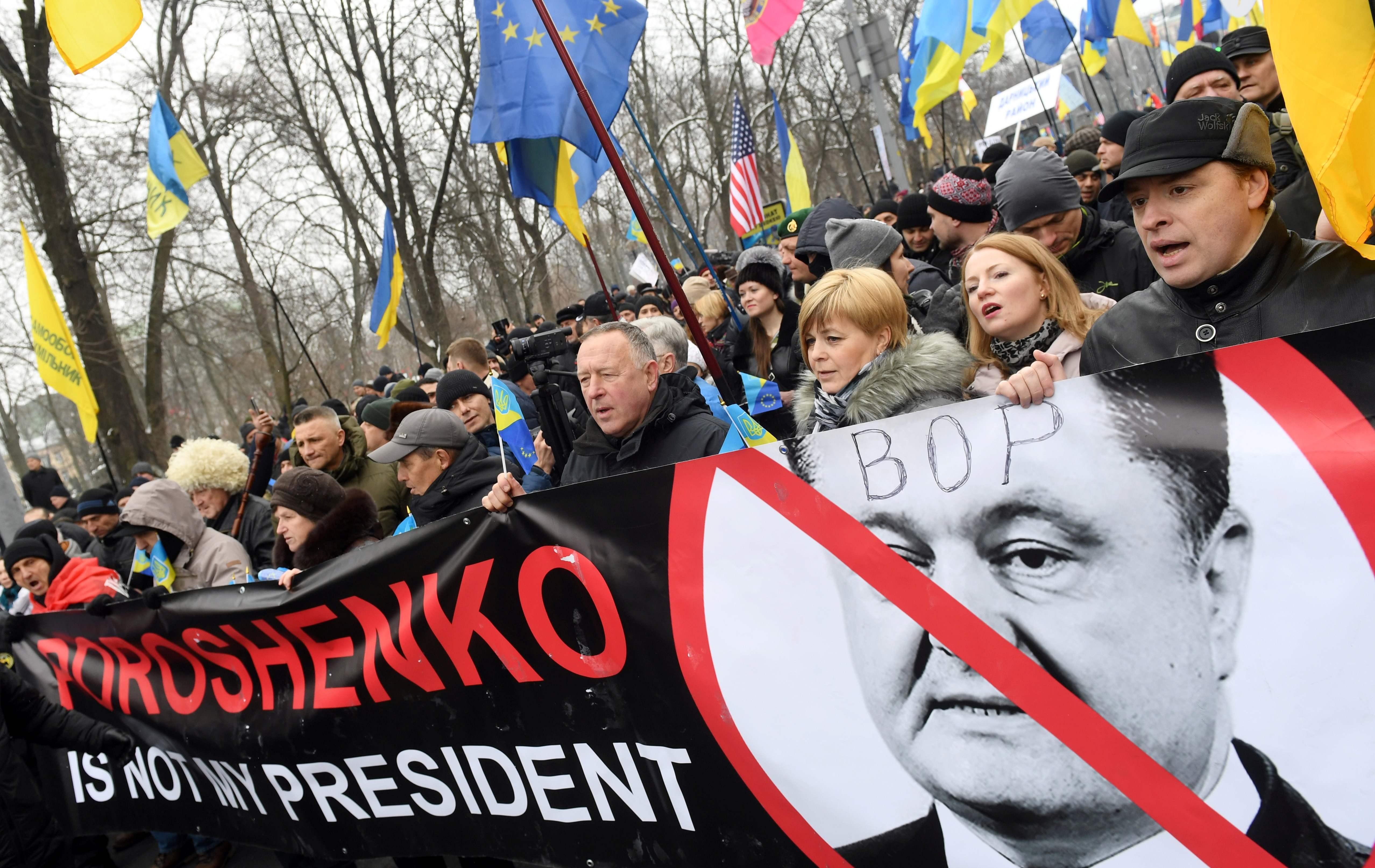 تظاهر الاف من أنصار الرئيس الجورجى السابق ميخائيل ساكاشفيلى