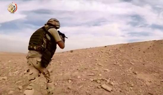 فيديو.. العملية سيناء تواصل حصد فلول الإرهاب بسيناء ...