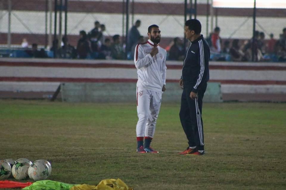 جلسة إيهاب جلال مع محمود عبد العزيز