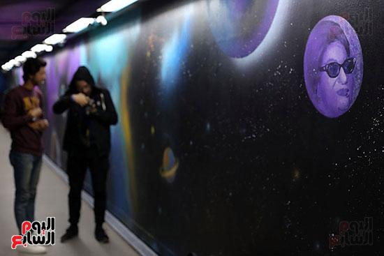 صور تجديد محطة مترو الأوبرا (8)