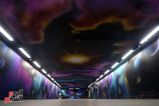 صور تجديد محطة مترو الأوبرا (5)