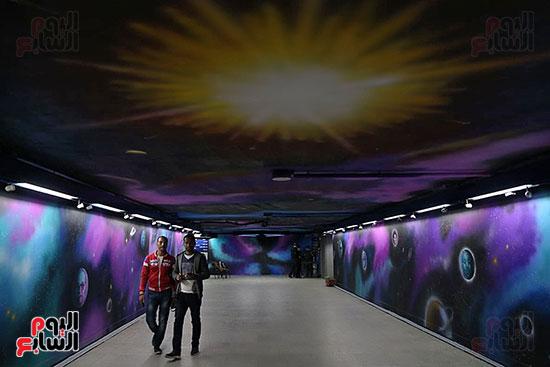صور تجديد محطة مترو الأوبرا (15)