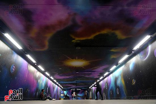 صور تجديد محطة مترو الأوبرا (13)