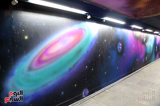 صور تجديد محطة مترو الأوبرا (1)