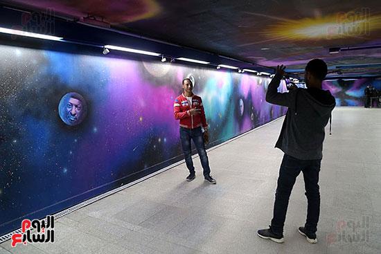 صور تجديد محطة مترو الأوبرا (4)