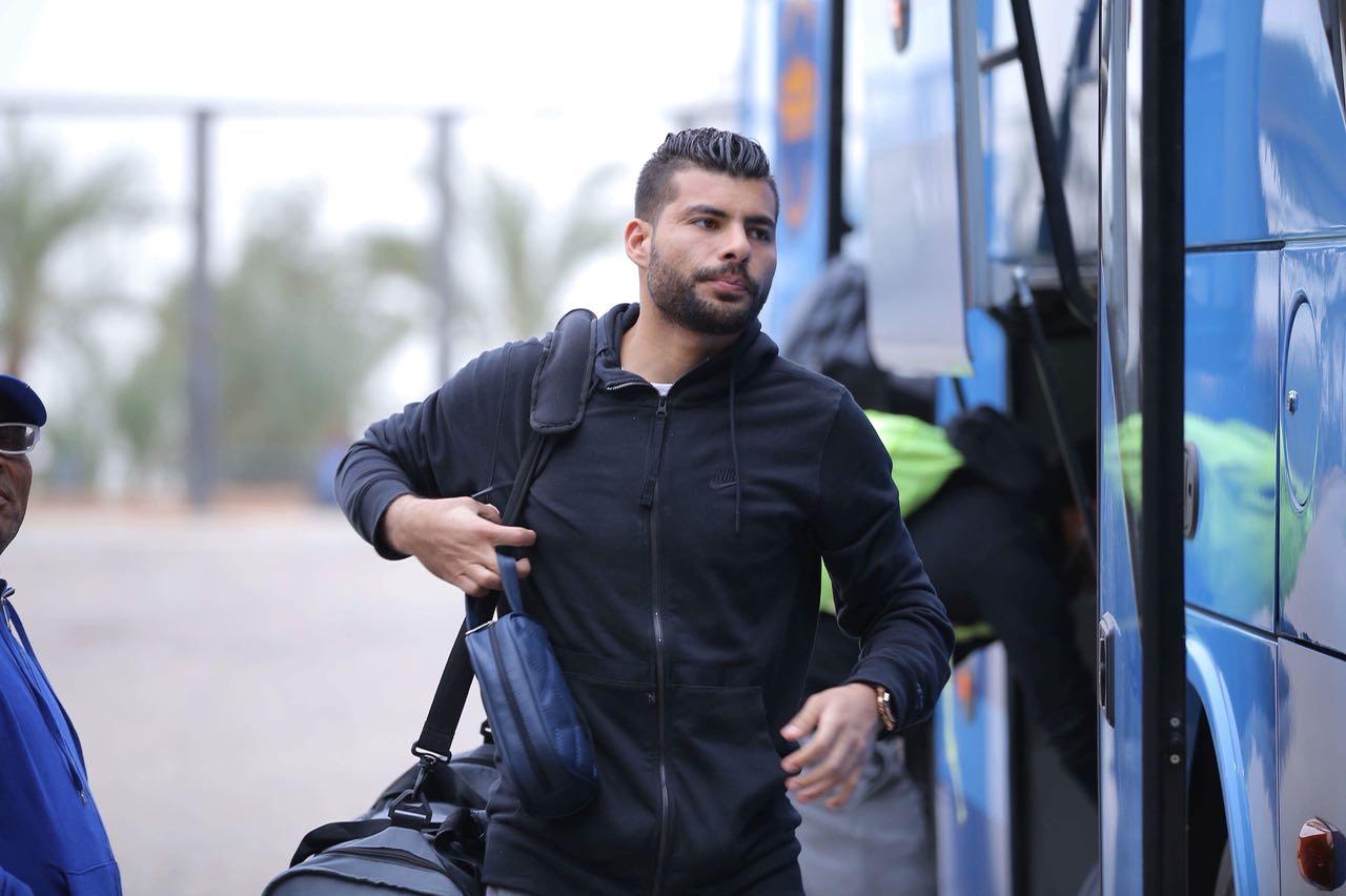 وصول لاعبى المقاصة لاستاد القاهرة