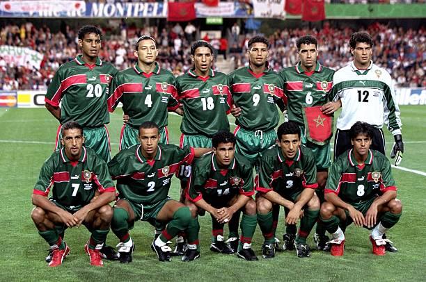 منتخب المغرب فى مونديال فرنسا 1998
