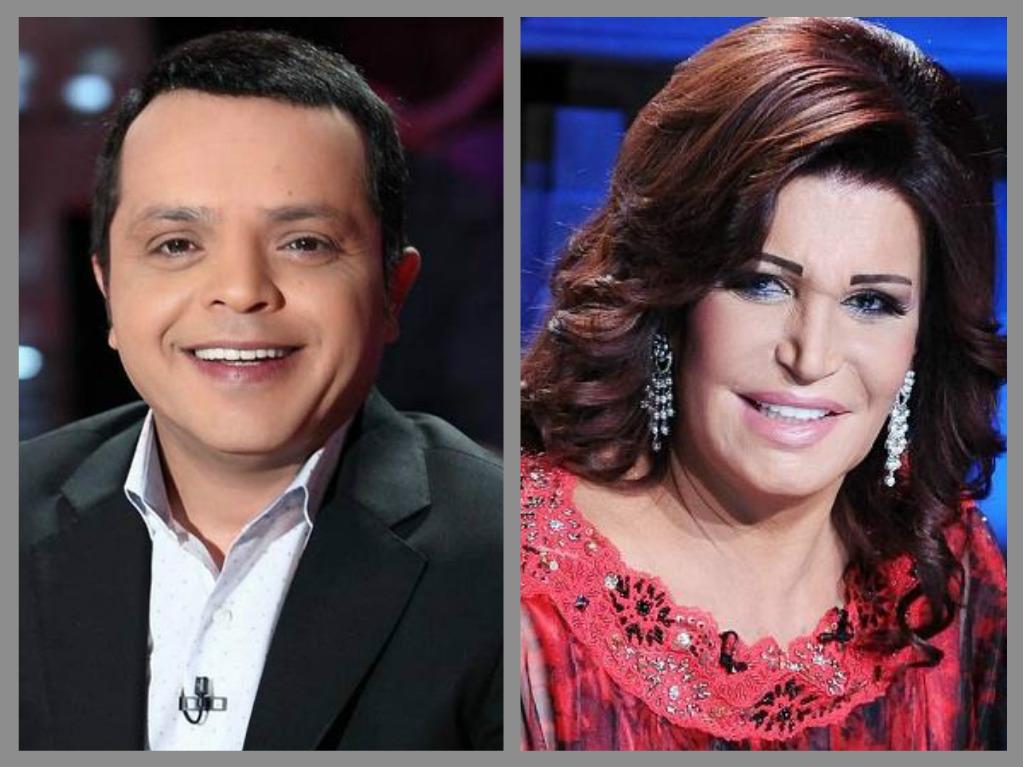 محمد هنيدى ونجوى فؤاد