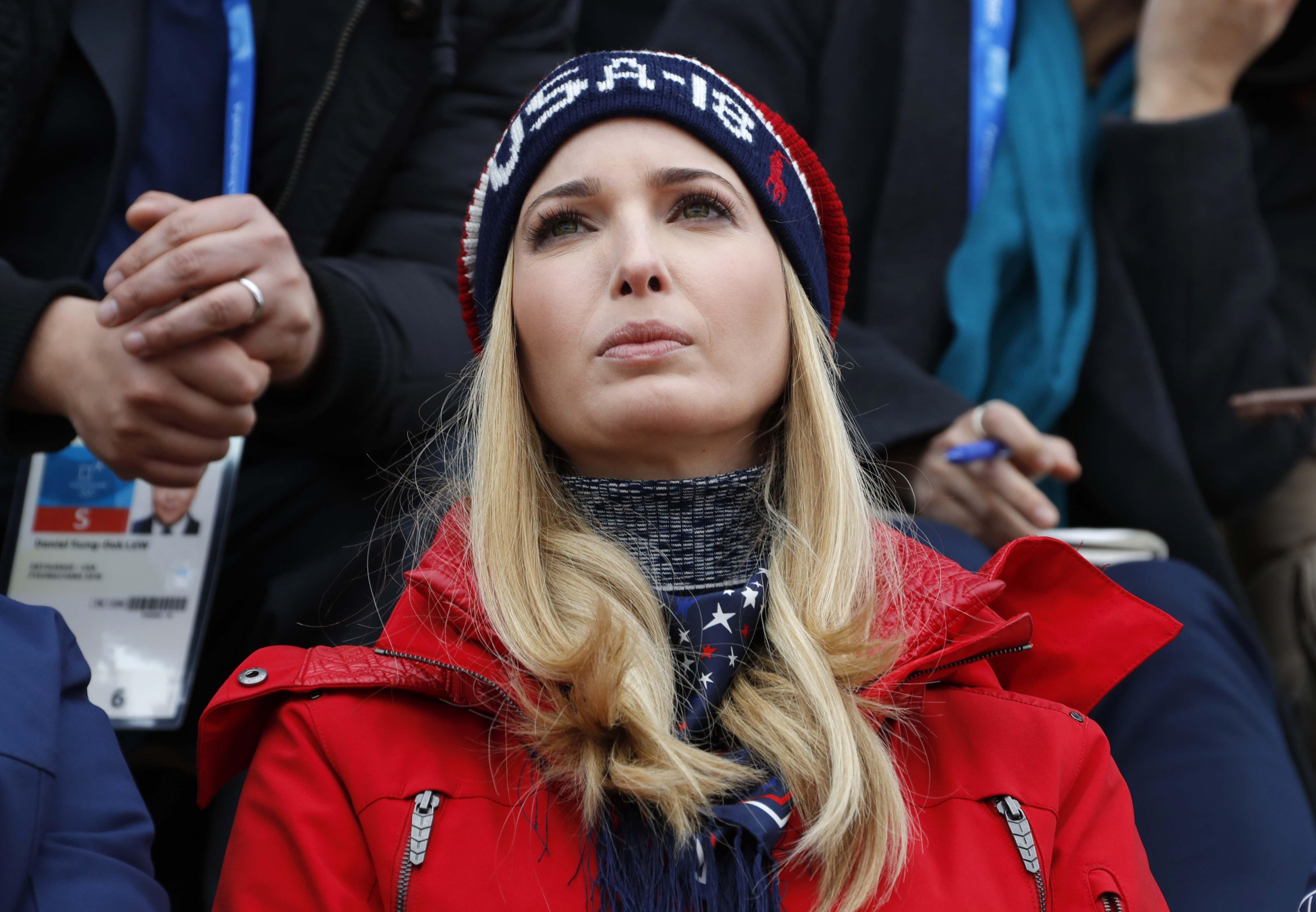 إيفانكا ترامب ابنة الرئيس الأمريكى دونالد ترامب