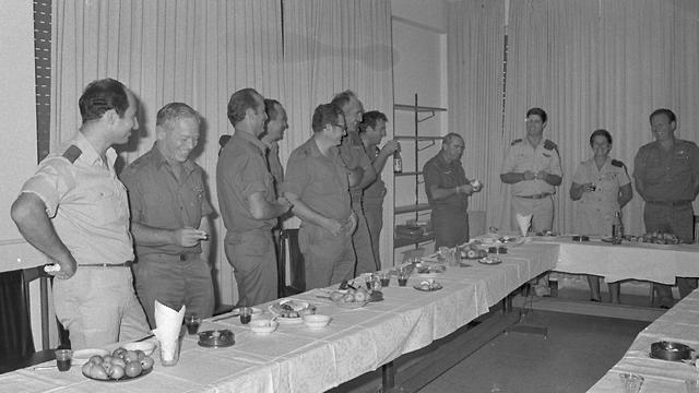 اجتماع هيئة الاركان الاسرائيلية