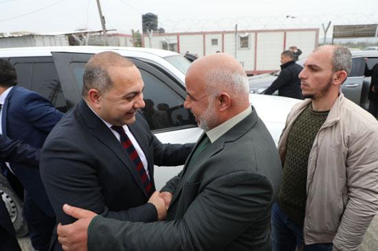 اللواء توفيف أبو نعيم يستقبل الوفد الأمنى المصرى (3)