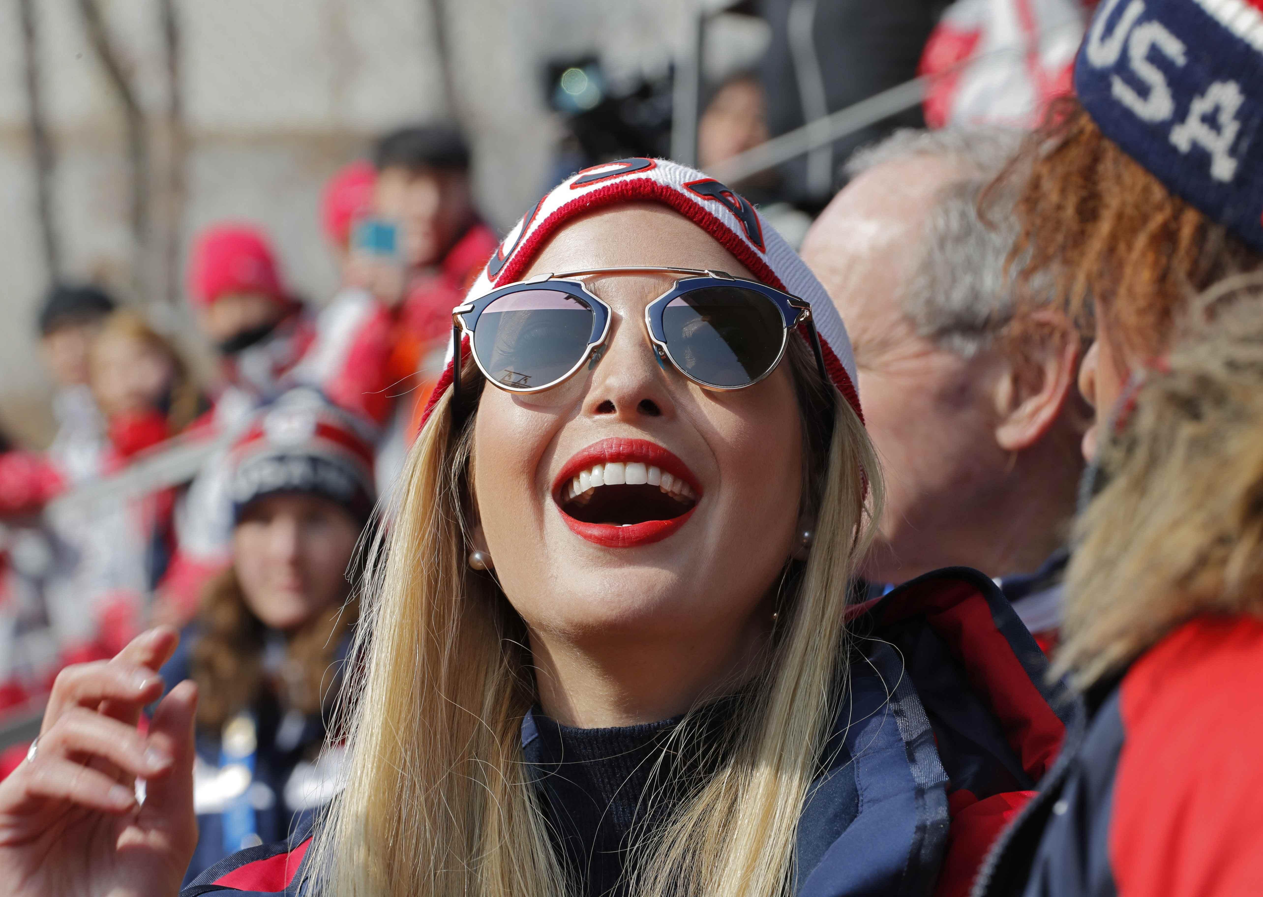 فرحة إيفانكا ترامب ابنة الرئيس الأمريكى
