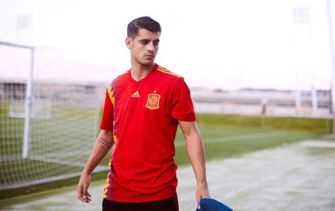 قميص اسبانيا