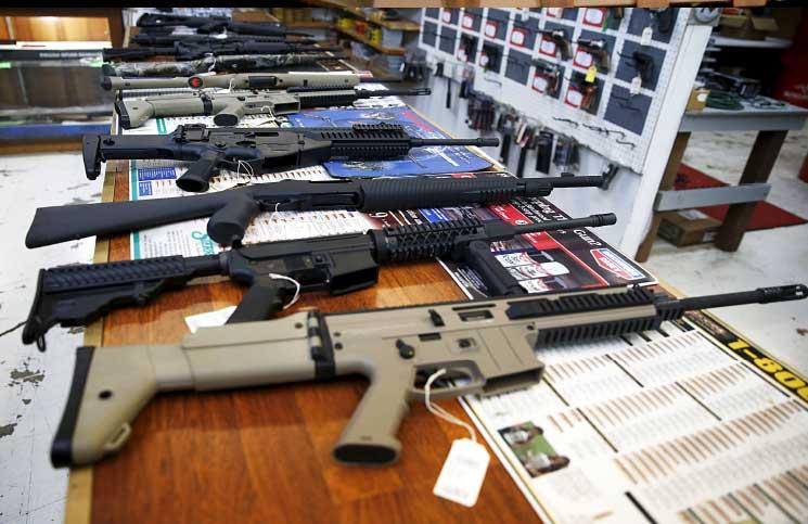 الأسلحة فى أمريكا