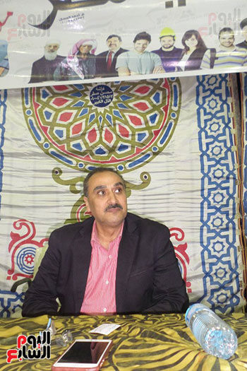 احمد العايدى مسئول الحملة بالاسماعيلية