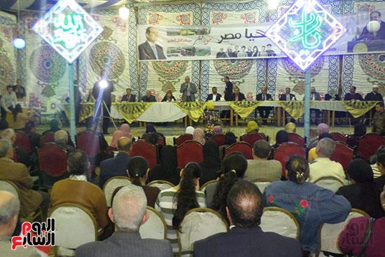 النائب احمد البعلى يتحدث فى المؤتمر