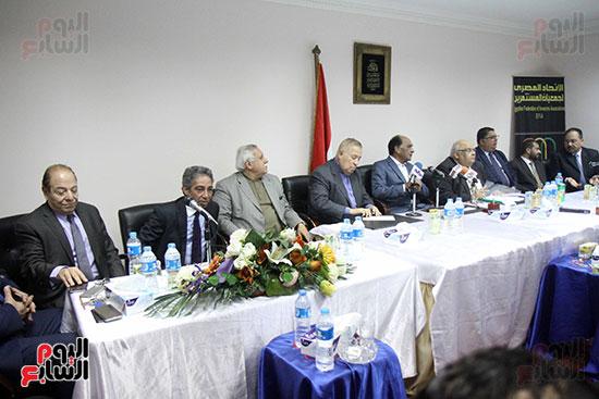 اجتماع مجلس إدارة الاتحاد المصرى لجمعيات المستثمرين (1)