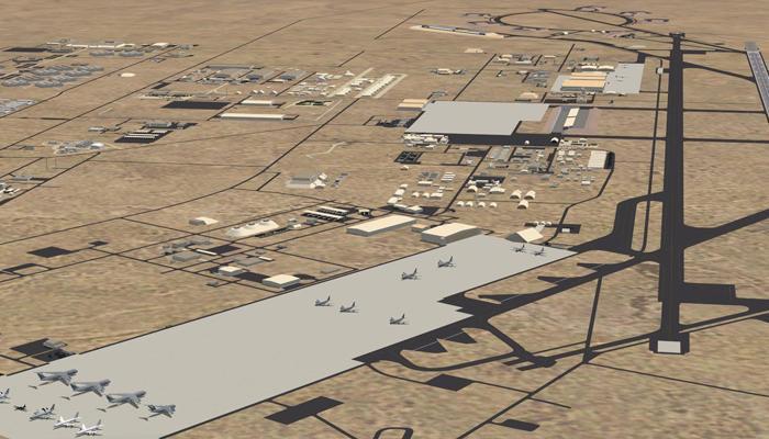 قاعدة العديد الامريكية فى قطر