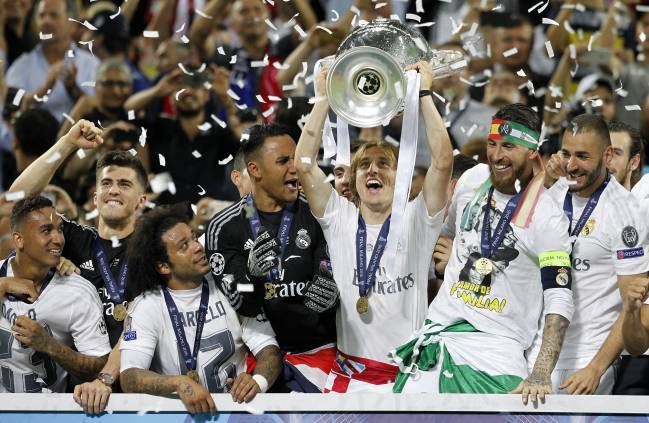 ريال مدريد بطل أوروبا 2016