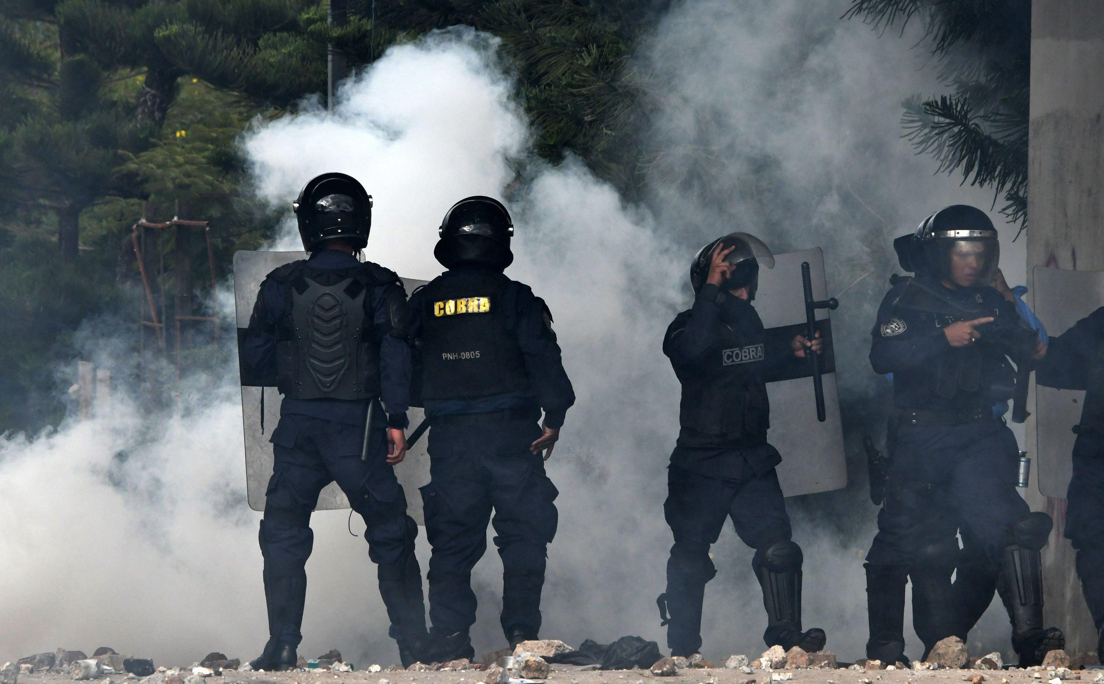 اشتباكات عنيفة فى هندوراس