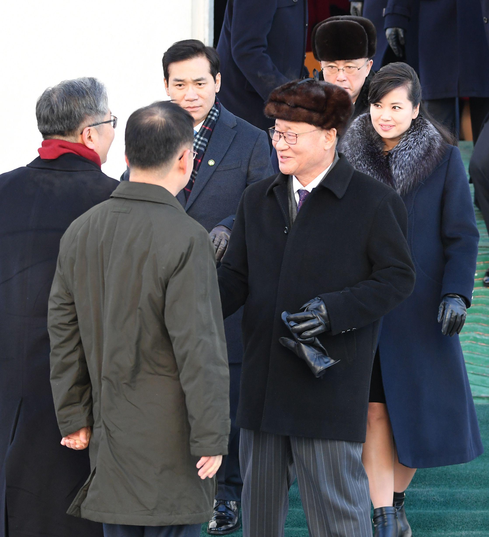 قيادي في وفد كوريا الشمالية الأولمبى