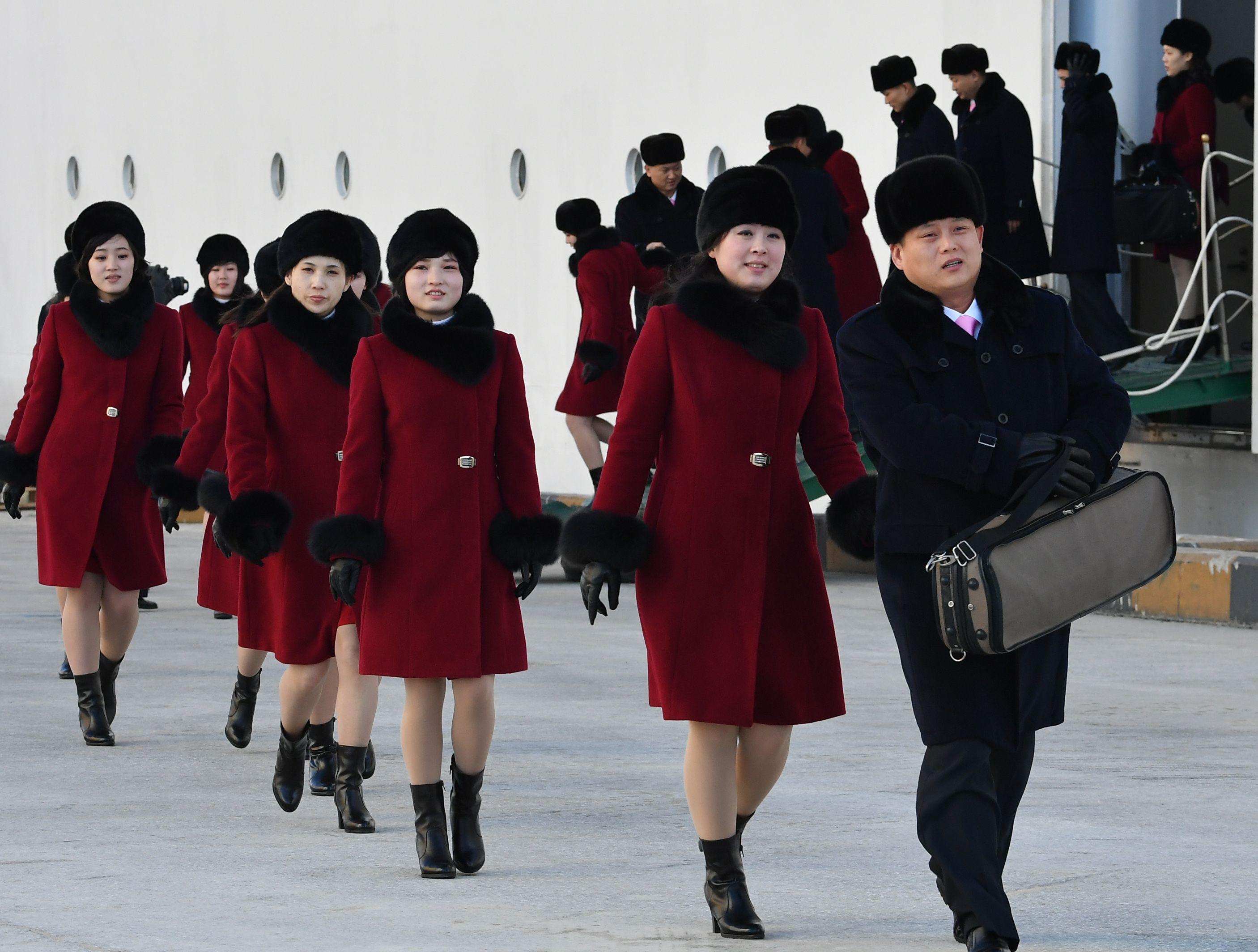 وصول الأراضي الكورية الجنوبية