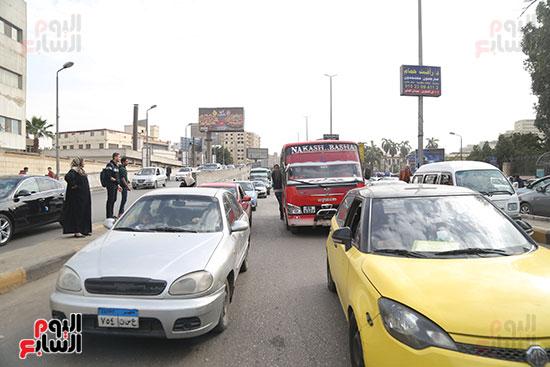 شلل مرروى بشوارع القاهرة والجيزة (12)