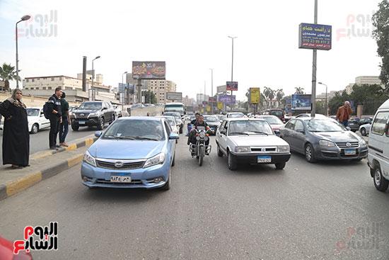 شلل مرروى بشوارع القاهرة والجيزة (13)