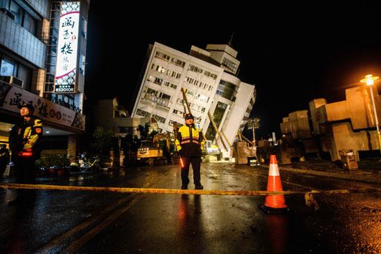 مبنى-مهدم-بسبب-الزلزال