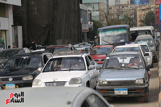 شلل مرروى بشوارع القاهرة والجيزة (11)