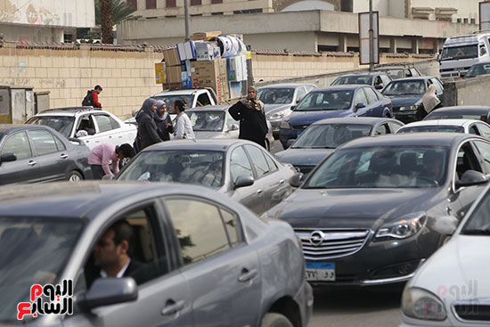 شلل مرروى بشوارع القاهرة والجيزة (10)