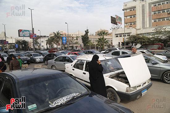 شلل مرروى بشوارع القاهرة والجيزة (8)