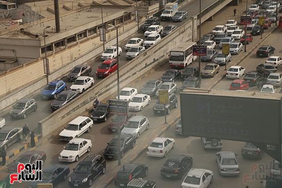 شلل مرروى بشوارع القاهرة والجيزة (3)