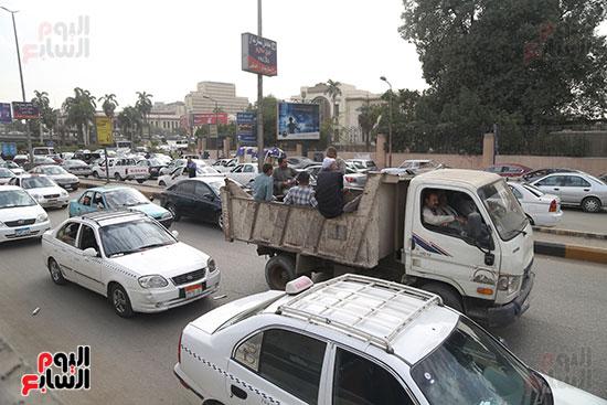 شلل مرروى بشوارع القاهرة والجيزة (14)