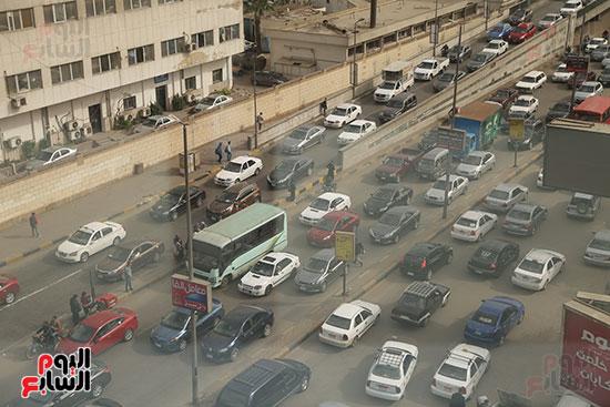 شلل مرروى بشوارع القاهرة والجيزة (2)