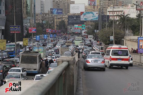 شلل مرروى بشوارع القاهرة والجيزة (17)