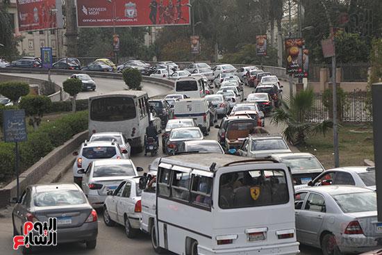 شلل مرروى بشوارع القاهرة والجيزة (15)